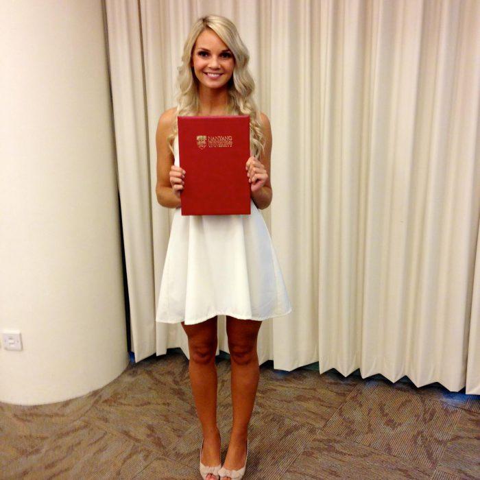 Helga Stormo graduation