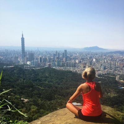 Helga on exchange in Taiwan