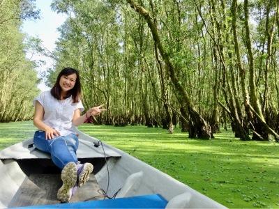 _Melaleuca forests_ - An Giang city - Vietnam